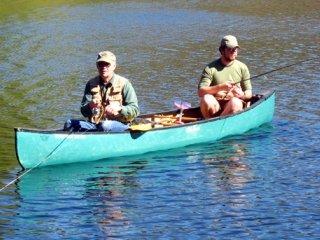 canoe-fishing