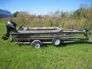 Duck Boat Blind