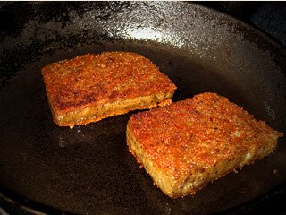 Scrapple on Pan