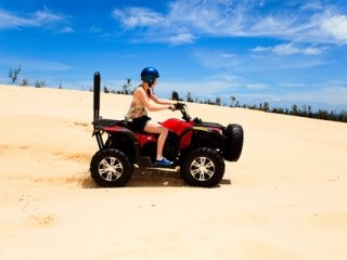 Women ATV Riding