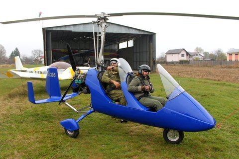Gyrocopter Pilot on Capitol Hill Spotlights Aircraft