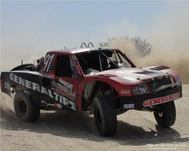 Baja 500 Mixes Speed, Distance, Locals and Dust