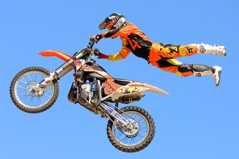 FMX Freestyle Motocross Combines Speed, Dirt Bikes and Acrobatics