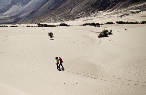 © Gelbendorf | Dreamstime.com - Walking In Desert Photo