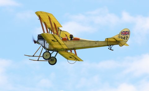 World War I Aircraft Fly Again at Virginia Air Show
