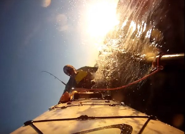 kayak-spill