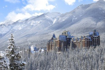A Classic Winter Destination at the Fairmont Banff Springs