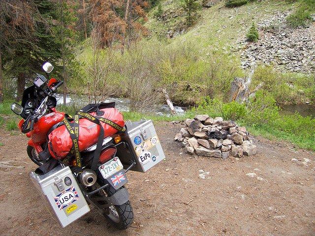 dual sport camping
