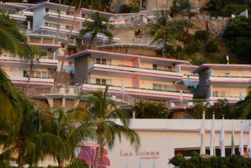In the Pink at Las Brisas Acapulco
