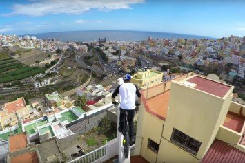 Danny MacAskill's Amazing GoPro Video From Spain
