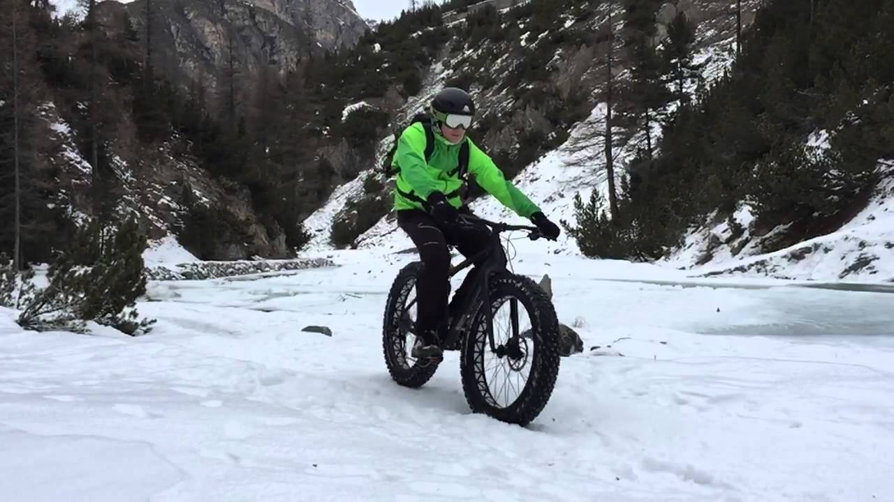 fat bike on snow