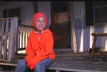 Boy Shoots Two Deer With One Shot on First Hunt