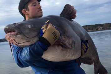 North Carolina Angler Breaks Catfish Record Twice in One Day
