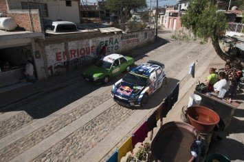Finn Driver Wins World Rally Stage in Mexico