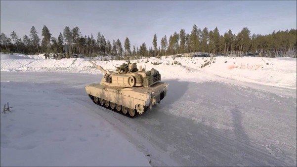 tank-drifting
