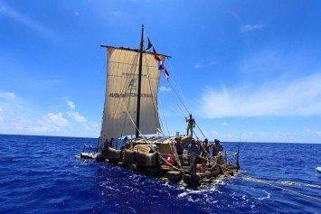 Kon-Tiki 2 Leader Recounts Historic Balsa Raft Voyage