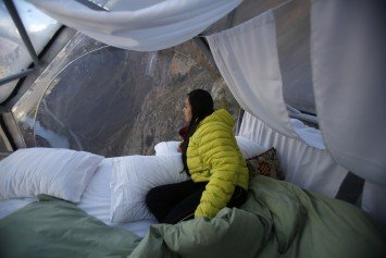 Would You Sleep in this Luxury Transparent Capsule on a Cliff in Peru?