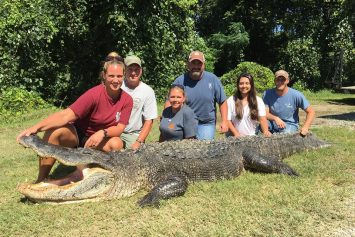 Woman Lands Mississippi Record Gator