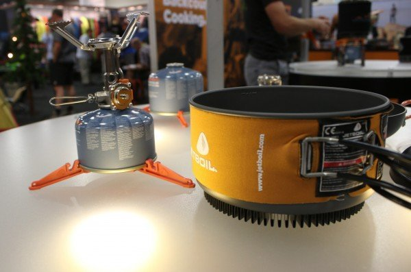 JetBoil Demos New Mighty Mo Camp Stove at Outdoor Retailer