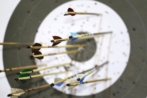 arrows target