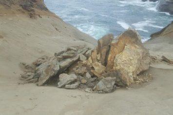Vandals Sought in Oregon Sandstone Pedestal Destruction