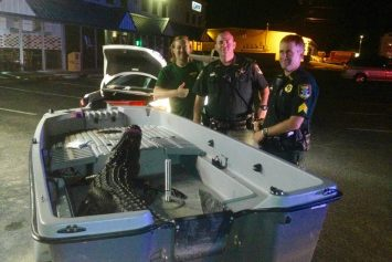 Florida Traffic Stop Ends in Wild Photo Op