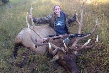 Teenage Girl Takes Down Nebraska Record Elk