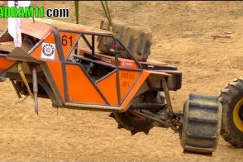 Mind-Blowing Formula Off-Road Crash: He walked away?
