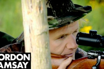 Deer Hunting Trip Turns Gordon Ramsay Vegetarian