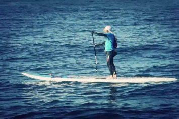 Surf Champion to Attempt First Atlantic Crossing on SUP