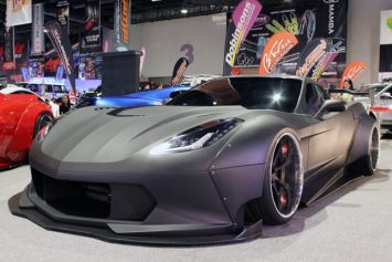 Black Manta Defines Corvette at SEMA