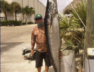 Possible World Record Wahoo Caught in Florida