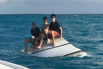 3 Teens Rescued Off Capsized Boat in Florida Keys