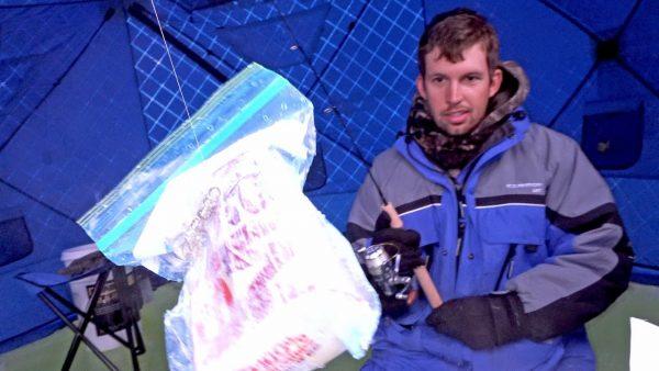 ice fishing big mac