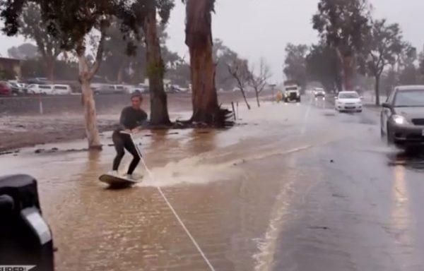 street-surfing